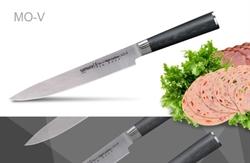 Нож кухонный стальной для нарезки Samura Mo-V SM-0045/G-10
