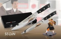 """Набор из 2 ножей """"Samura SEGUN"""", SS-0021,SS-0085 в подарочной коробке, G-10 SS-0210/G-10"""