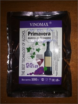 Vinomax Primavera винные дрожжи 12 % - фото 6747
