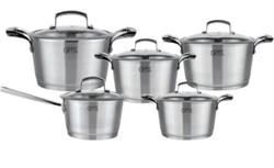 Набор посуды GIPFEL 1537 GENESIS 10пр - фото 7125