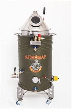 Пароводяной котел 50 литров тэн 4,5 кВт - фото 7838