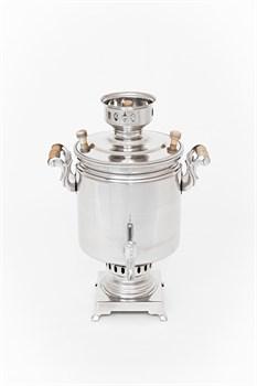 Самовар «Купец» жаровый с трубой 7 литров - фото 7863