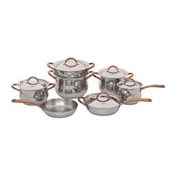 Набор посуды из нержавеющей стали Gipfel Absolute 1515 - фото 7954