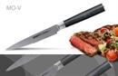 Нож кухонный стальной для стейка Samura Mo-V SM-0031/G-10