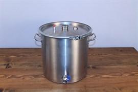 Luxstahl 3  котел 50 литров  под  царгу 1.5 дюйма
