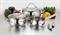 Набор посуды TERZA Gipfel 5 предметов - фото 7124
